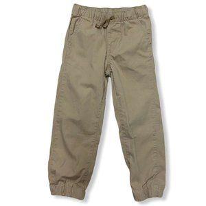 GAP Boy Khaki Joggers Size 5